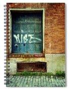 Strip District Doorway Number 1 Spiral Notebook
