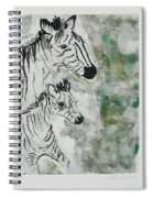 Striped Duet Spiral Notebook