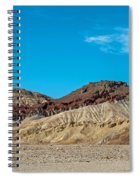 Striped Mountain Spiral Notebook