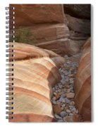 Striped Sandstone Spiral Notebook