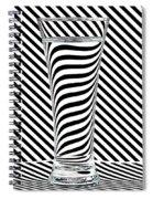Striped Water Spiral Notebook