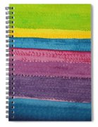 Stripes Original Painting Spiral Notebook