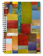 Strips And Pieces Lll Spiral Notebook