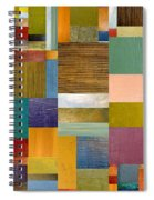 Strips And Pieces Lv Spiral Notebook