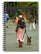 Strolling In Jackson Square Spiral Notebook