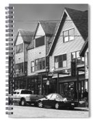Strolling The Streets Of Bar Harbor Spiral Notebook