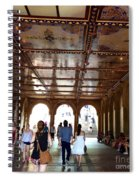 Strolling Through The Arches Spiral Notebook