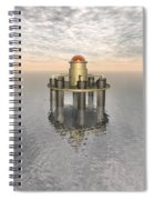 Structure At Sea Spiral Notebook