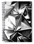 Structure Invasion Spiral Notebook