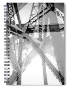 Structured Tones Spiral Notebook