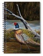Strutting Pheasant Spiral Notebook