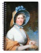 Stuart's Henrietta Marchant Liston Or Mrs. Robert Liston Spiral Notebook