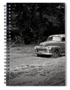 Stuck In The Mud Spiral Notebook