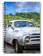 Studebaker Goes To The Beach Spiral Notebook