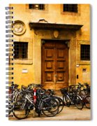 Student Parking Spiral Notebook