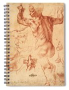 Studies For The Libyan Sibyl Spiral Notebook