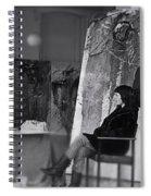 Studio Visit 1983 Spiral Notebook