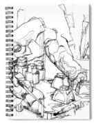 Studio Work Spiral Notebook