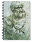 Study For An Apostle From The Last Supper Spiral Notebook