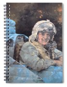 Study For Donald Campbell Oil On Canvas Spiral Notebook