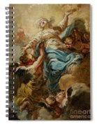 Study For The Assumption Of The Virgin Spiral Notebook