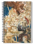 Study For The Coming Of The Americans Spiral Notebook