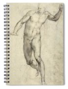 Study For The Last Judgement  Spiral Notebook