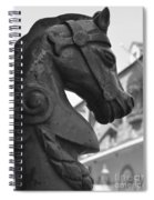 Study In Black And White Spiral Notebook