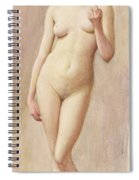 Study Of A Nude II Spiral Notebook