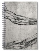 Study Of Arms Spiral Notebook