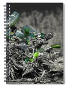Stumped To Stop Spiral Notebook