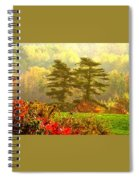 Stunning - Looks Like A Painting - Autumn Landscape  Spiral Notebook