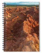 Stunning Red Rock Formations Spiral Notebook