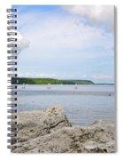 Sturgeon Bay In Summer Spiral Notebook