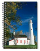 Sturgeon Point Lighthouse Spiral Notebook