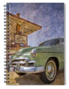 Stylish Chevy Spiral Notebook