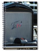 Stylish Ford Spiral Notebook
