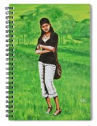 Stylish Miss Spiral Notebook
