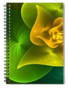 Stylized Philodendron Spiral Notebook