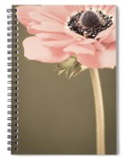 Subdued Anemone Spiral Notebook