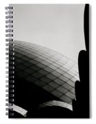 Spiritual Geometry Spiral Notebook
