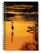Sublime Silhouette Spiral Notebook