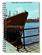 Submarine Spiral Notebook