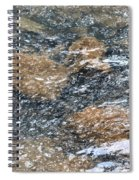 Submerged Stone Abstract Spiral Notebook