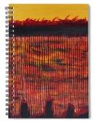Subterranean Skyline Spiral Notebook