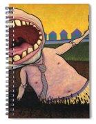 Suburban Tarpit Spiral Notebook