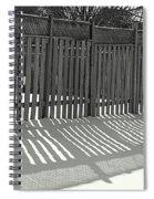 Suburban Winter Spiral Notebook