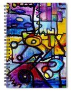 Suburbias Daily Beat Spiral Notebook