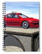 Suburu Wrx 4wd Spiral Notebook