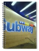 Subway Entrance # 2 Spiral Notebook